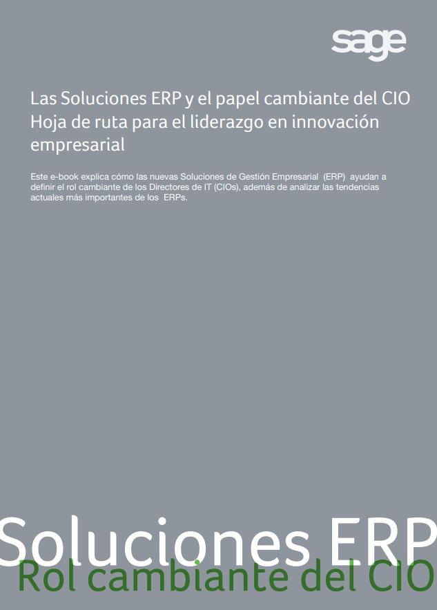 Soluciones ERP - El Rol Camibante del CIO